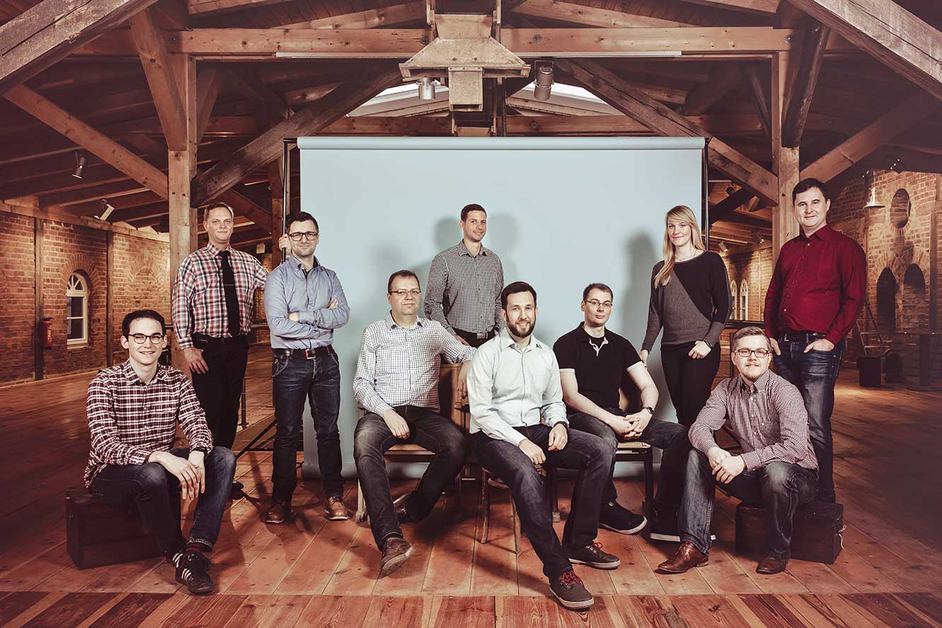 Photo of the Zammad Team