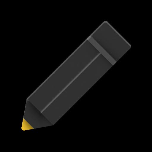 Illustration eines Bleistifts