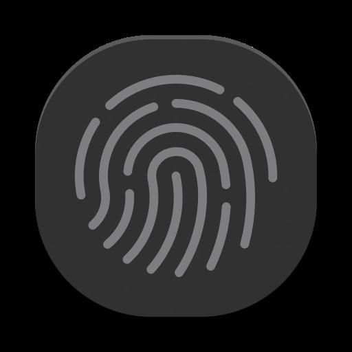 Illustration eines Fingerabdrucks
