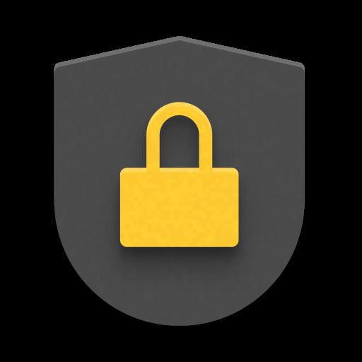Illustration of a padlock and shield