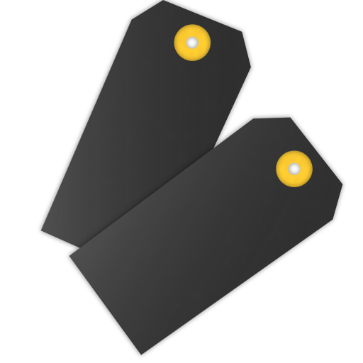 Illustration of two tags