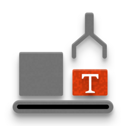 Icon to illustrate text modules