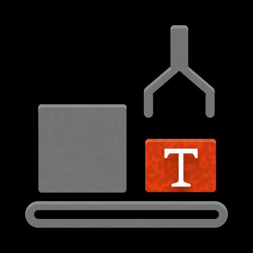 Icon zur Illustration von Textbausteinen