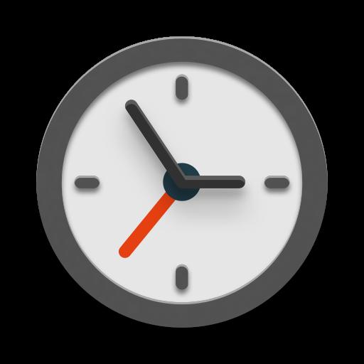 Illustration einer Uhr